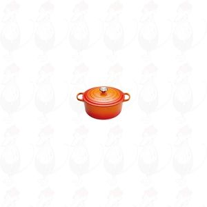 Le Creuset Signature Round Casserole 24 cm Orange-Red | 4,2 Liter