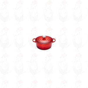 Le Creuset Signature Round Casserole 30 cm Cherry Red | 12 Liter
