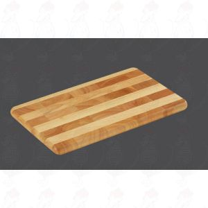 Chopping Board 33 x 21 x 2 cm, rubber wood