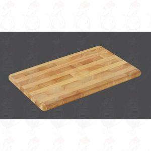 Chopping Board 45 x 30 x 2,5 cm, rubber wood