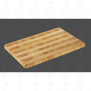 Chopping Board 51 x 35 x 3,5 cm, rubber wood