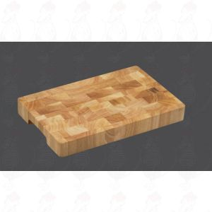 Chopping Block 35 x 23 x 4 cm, end grain