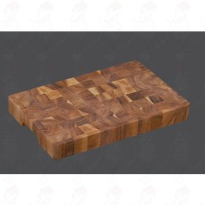 Chopping Block 45 x 30 x 4,5 cm, acacia wood