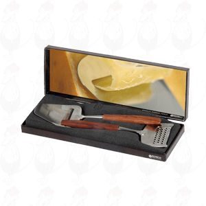 Gift box cheese Slicer and cheese Grater De Luxe Rosewood