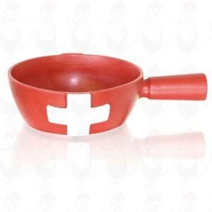 Swiss fondue top of Boska