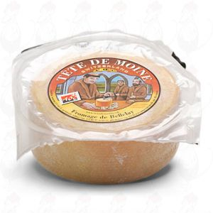 Tête de Moine - Half a Cheese | +\- 425 gramm - 0.94 lbs
