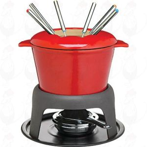 Fondue Red - Cast Iron | Masterclass