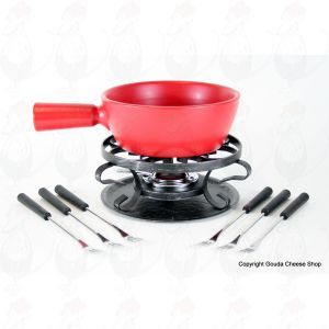 Boska Cheese fondue set Classic Red