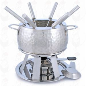 Stainless steel Fondue set Bienne