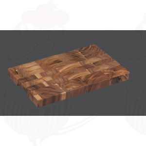 Chopping Block 40 x 25 x 3 cm, Acacia Wood