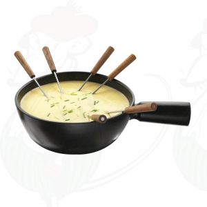 Cheese Fondue Pot - black Boska