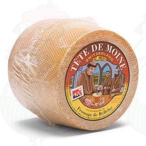 Tête de Moine Cheese | +/- 850g - 1.87 lbs