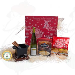 Assorted Christmas gift with Boska fondue tapas