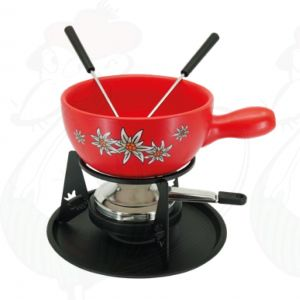 Cheese Fondue Set Edelweiss