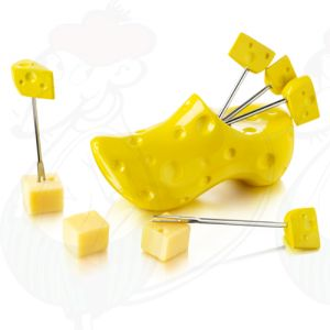 Cheese party pins