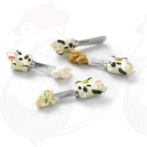 Dutch Spread Cheese Knife Set - Cow