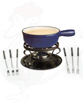 Swissmar Lugano Blue - Cheese fondue set