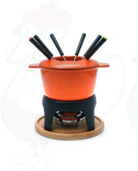 Fondue Pot Swissmar Sierra Cast Iron Orange | Buy Online